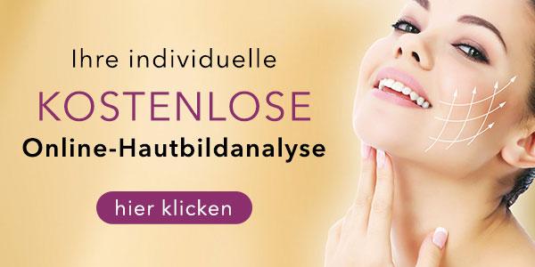 kostenlose individuelle Online-Hautbildanalyse